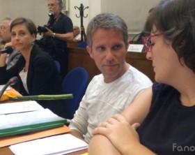 I consiglieri comunali di Fano a 5 Stelle Marta Ruggeri, Hadar Omiccioli, Roberta Ansuini