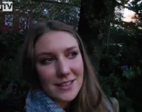 Alessia Gatti, 25enne, nata a Fano vive a New York