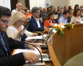 I consiglieri comunali del Pd di Fano Cristian Fanesi, Rosetta Fulvi, Francesco Torriani, Sara Cucchiarini, Marina Bargnesi, Alberto Bachiocchi