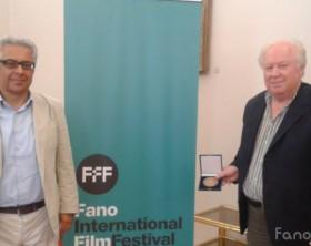 La presentazione del Fano International Film Festival con l'assessore Stefano Marchegiani e il direttore artistico Fiorangelo Pucci