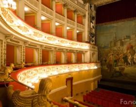 Il Teatro della Fortuna di Fano in piazza XX Settembre