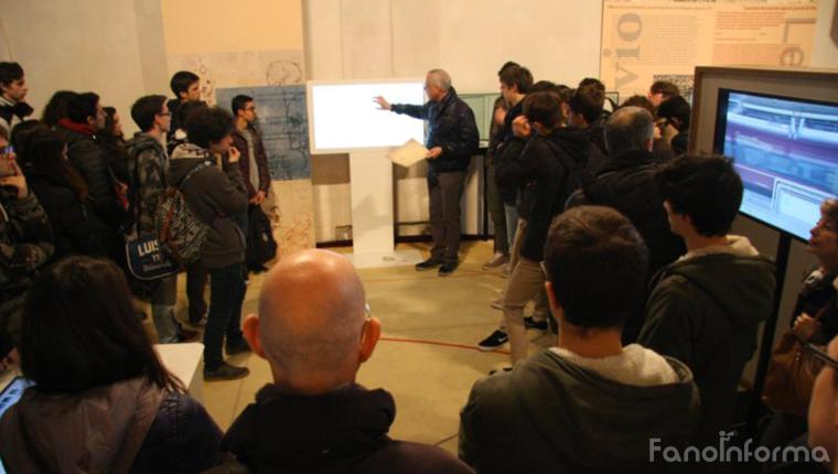 """La mostra-spettacolo """"Perfecto e Virtuale, l'uomo vitruviano di Leonardo"""" promossa dal Centro Studi Vitruviani di Fano"""