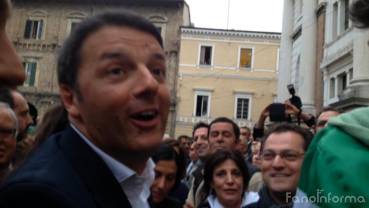 Il premier Matteo Renzi sarà in visita a Fano a gennaio