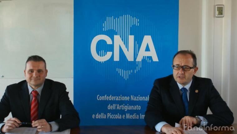 Moreno Brodoni e Alberto Barilari, segretario e presidente Cna Pesaro e Urbino