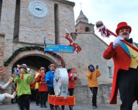 L'anteprima del Carnevale di Fano a Candelara