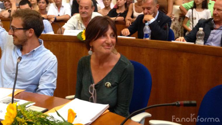 Carla Luzi, consigliera comunale di Sinistra Unita di Fano
