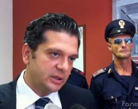 Il dottor Stefano Seretti dirigente del Commissariato di Fano