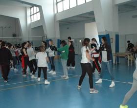 La Hung Sing Kung Fu Fano all'autogestione del Liceo Classico Nolfi