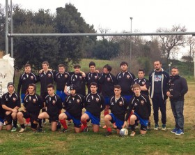 L'Under 16 del Fano Rugby