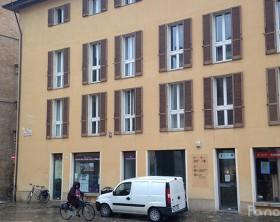 Il Palazzo dell'Urbanistica del Comune di Fano in piazza XX Settembre