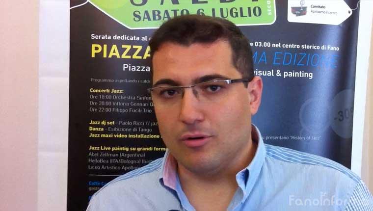 Alberto Santorelli, consigliere comunale di Progetto Fano
