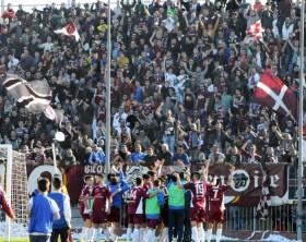 Alma Juventus Fano durante una partita