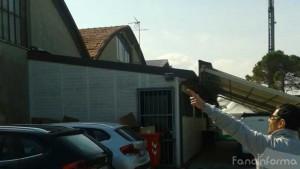 il tetto del negozio Fuligni Giochi & Sport di Fano