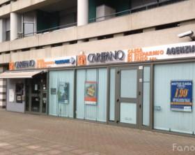 La filiale della Carifano di via Canale Albani di Fano rapinata questa mattina