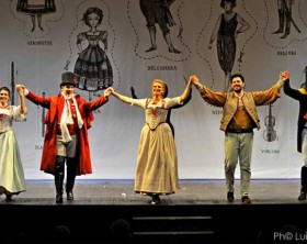 I protagonisti dell'Elisir d'Amore al Teatro della Fortuna di Fano