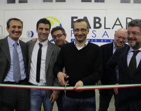 Matteo Ricci inaugura il FabLab