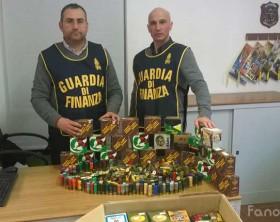 Sequestro di munizioni delle fiamme gialle di Urbino