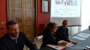 """La presentazione dell'anteprima a Pesaro del film """"Tempo instabile con probabili schiarite"""""""