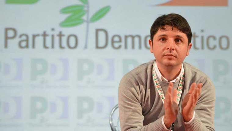 Giovanni Gostoli, segretario provinciale del PD Pesaro Urbino