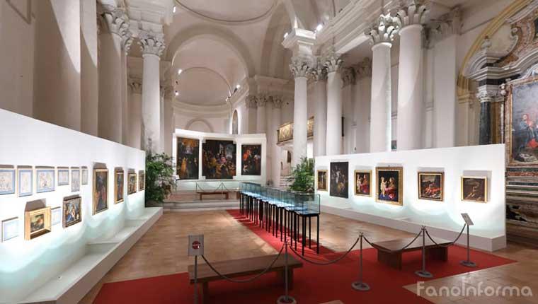 La Pinacoteca San Domenico - Fonte foto: www.fondazionecarifano.it