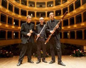 Il Trio Eccentrico ai Concerti di Mezzogiorno del Teatro della Fortuna di Fano