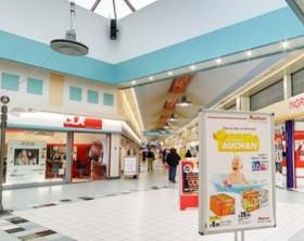 La galleria Auchan di Fano
