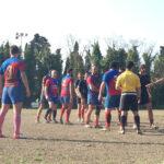 Fano Rugby in una fase di gioco