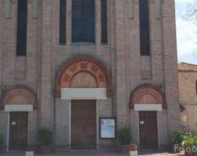 La chiesa della parrocchia di San Cristoforo a Fano