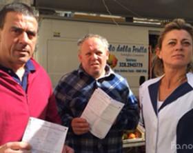 I commercianti multati dalla Polizia municipale di Fano