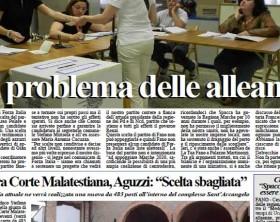 L'edizione di Fanoinforma, il quotidiano della città di Fano, di martedì 21 aprile 2015