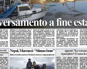 L'edizione del quotidiano Fanoinforma di mercoledì 29 aprile con le notizie della città di Fano