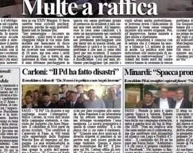 L'edizione di oggi del quotidiano Fanoinforma con le notizie della città di Fano di giovedì 30 aprile