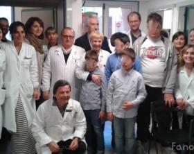 Lo staff di Neuropsichiatria Infantile degli Ospedali Riuniti Marche Nord diretto da Vera Stoppioni