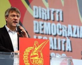 Maurizio Landini, segretario generale della Fiom Cgil