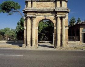 L'ingresso del Parco Miralfiore Pesaro