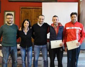 La premiazione dell'Italservice PesaroFano di Calcio a 5