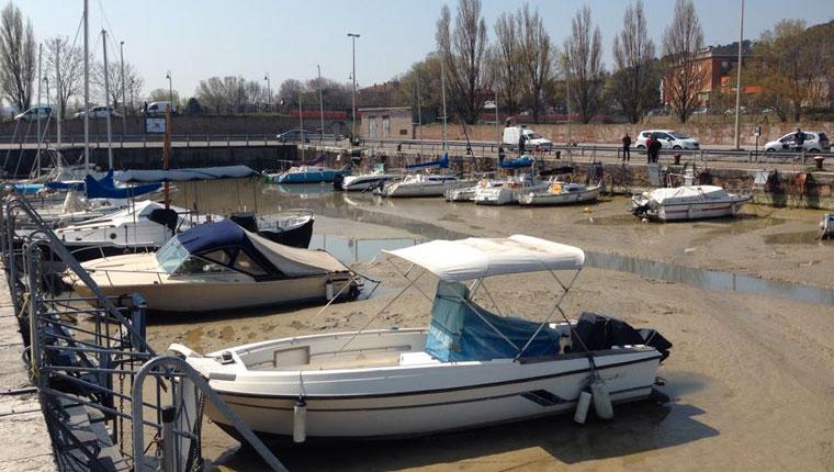 """Foto del porto di Pesaro - Fonte Foto: Sara Brualdi posata nel gruppo Facebook """"Sei di Pesaro se..."""""""