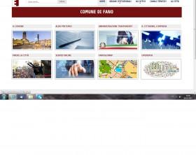 nuovo sito online del Comune di Fano