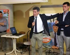 Il sindaco MAssimo Seri pronto a sostenere la candidatura in Regione di Boris Rapa