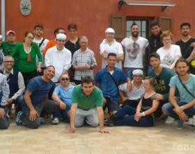 L'Alma Juventus fano a pranzo al Centro Itaca