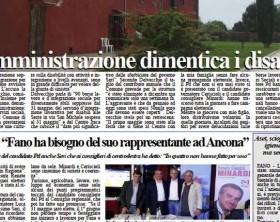 L'edizione di oggi, giovedì 14 maggio 2015, del quotidiano Fanoinforma con le notizie della città di Fano