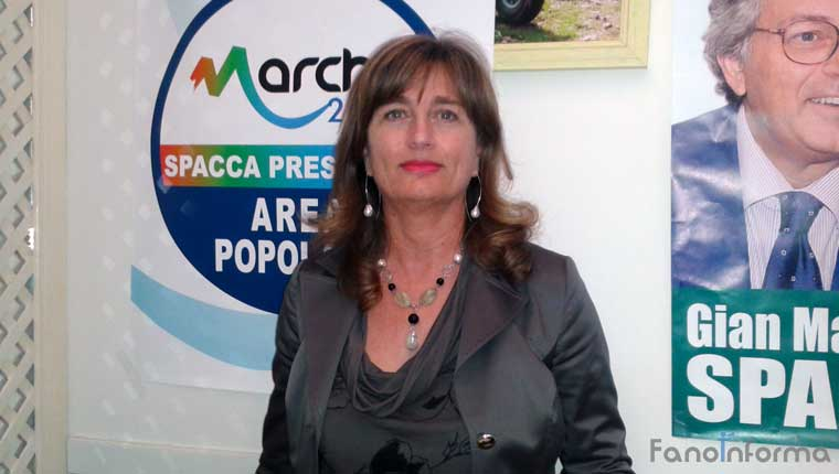 Oretta Ciancamerla, commercialista di Fano, candidata al Consiglio regionale a sostegno di Gian Mario Spacca