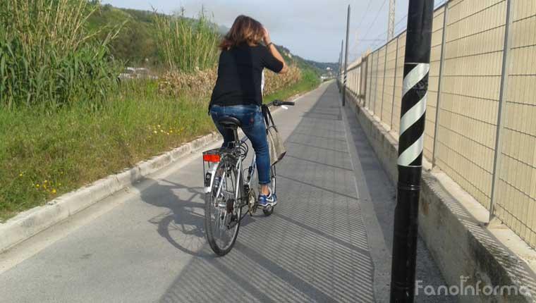 La pista ciclabile Fano-Fosso Sejore