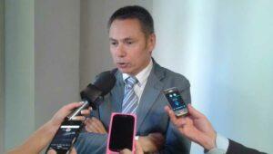 Alberto Deales, direttore sanitario azienda Ospedali Riuniti Marche Nord durante la presentazione a Pesaro