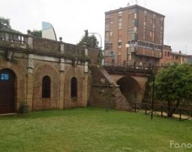 La zona della Darsena Borghese di Fano