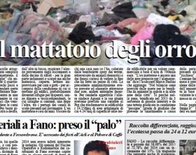 L'edizione di oggi, martedì 5 maggio, del quotidiano Fanoinforma, con le notizie della città di Fano
