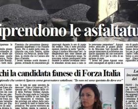 L'edizione di oggi, lunedì 4 maggio, del quotidiano Fanoinforma con le notizie della città di Fano