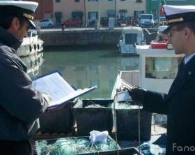 Reti sequestrate dalla Guardia costiera di Pesaro