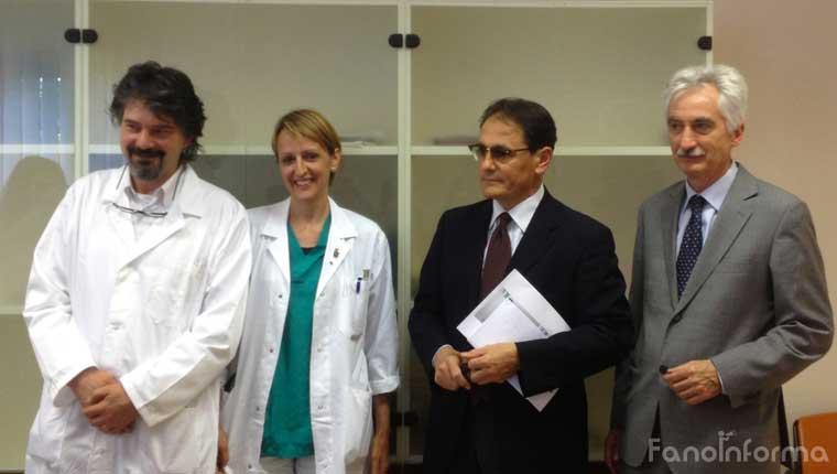 La presentazione dei dati su Chirurgia di Marche Nord a Fano