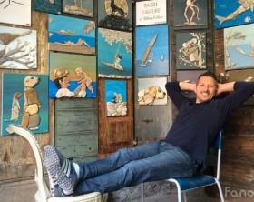 Stefano Furlani, 42enne restauratore fanese sarà all'Expo di Milano 2015 con i suoi sassi